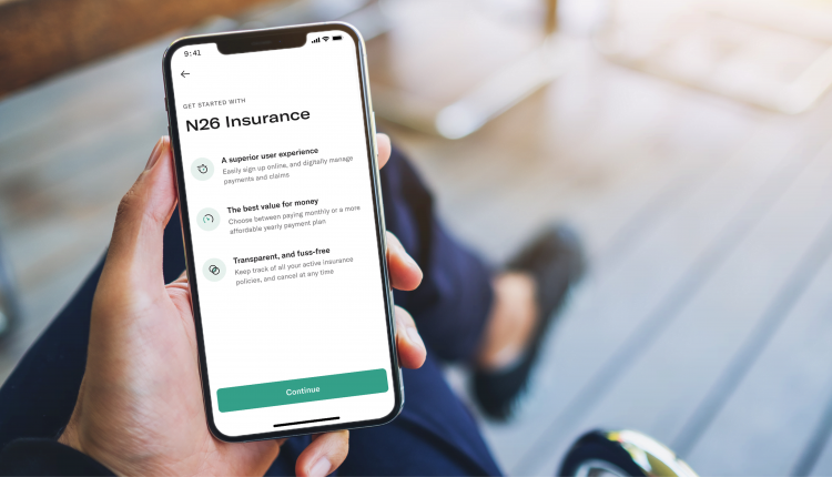 Online bank N26 jumps into insurance, taking on giants like
