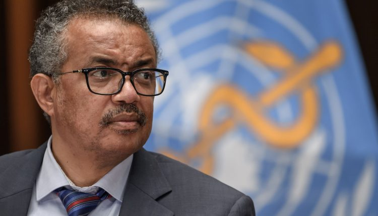 WHO chief warns infection rate approaching highest level ever