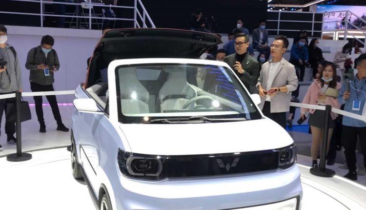 China's Wuling Hongguang Mini EV launches Cabrio electric convertible