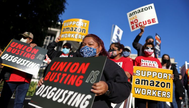 How Amazon fought the union drive in Alabama