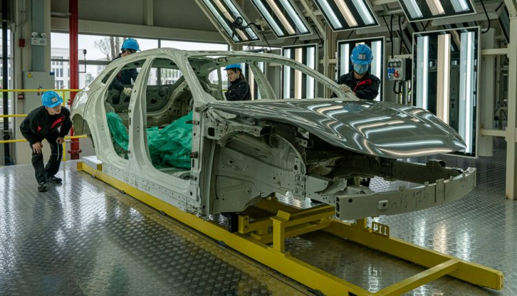 China Is Set to Rule Electric Car Production
