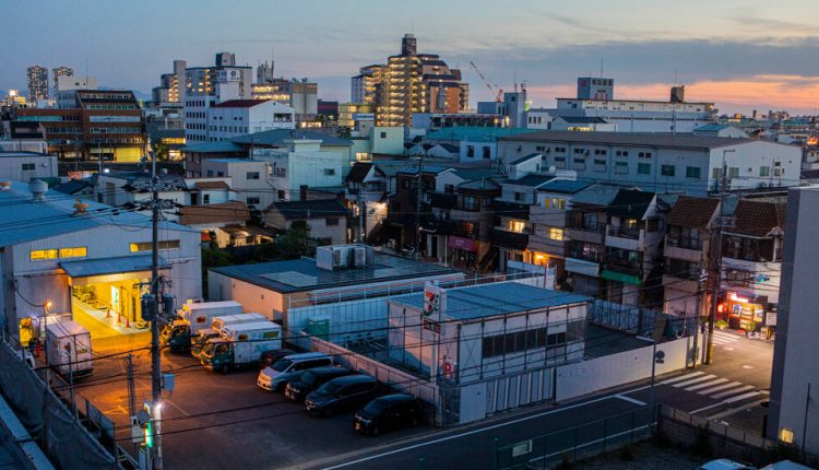 A Grudge Match in Japan: One Corner, Two 7-Elevens