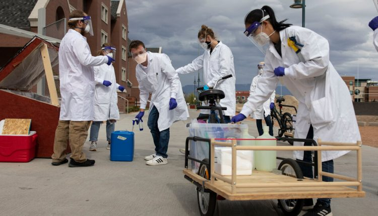 How a Colorado Campus Became a Pandemic Laboratory