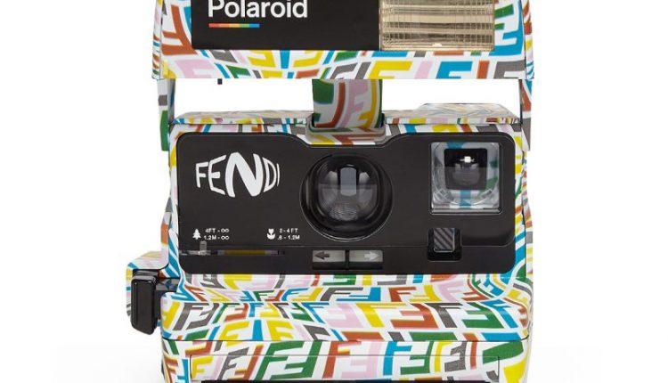 Instantly Fashionable FENDI x Vintage Polaroid Develops a Wavy New