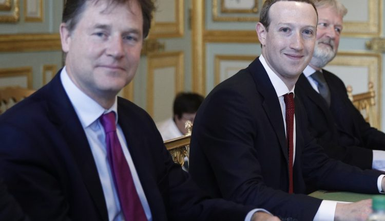 Facebook's Nick Clegg calls for bipartisan approach to break the