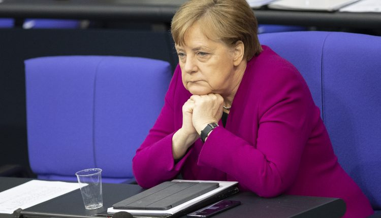 Merkel's CDU/CSU bloc hits historic low in voter poll