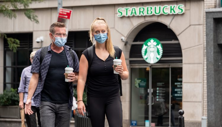 Starbucks updates mask policy for vaccinated customers