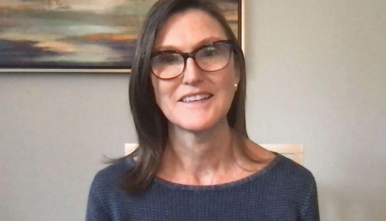 Cathie Wood's ARK Innovation ETF is down 10% this week,