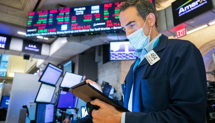 Stock futures are flat after the Dow closed at a