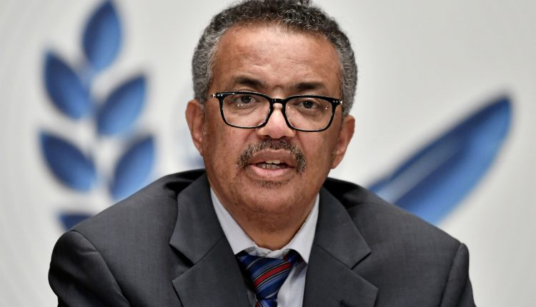 WHO chief urges world to follow U.S., waive Covid vaccine