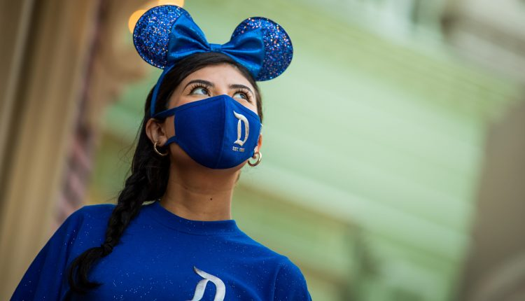 Disneyland reopening celebrated with custom Mickey ears and masks