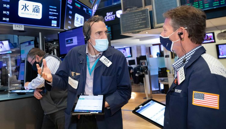 Stock futures rise slightly after Wall Street's worst week since