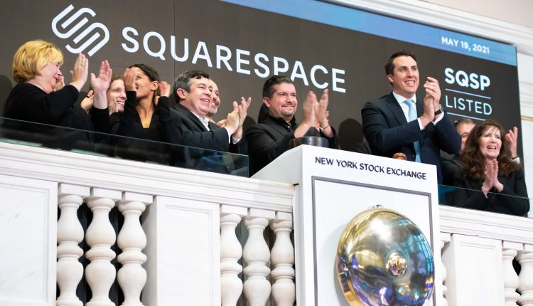 Squarespace CEO worth $2.4 billion after web company holds NYSE