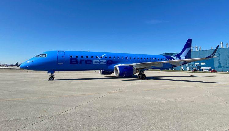 Breeze Airways debuts in travel rebound, the second new U.S.