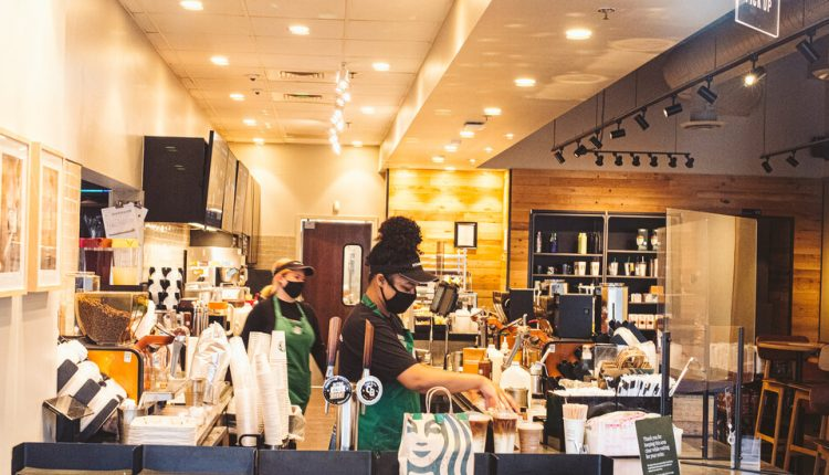 Starbucks and Other Businesses Relax Mask Policies