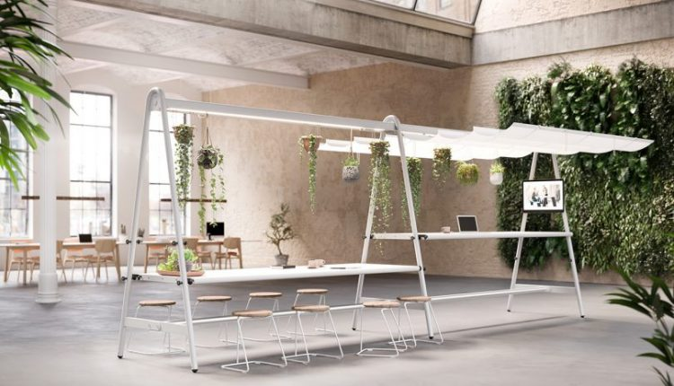 AMAi Is a Multifunctional Table Ready To Dress for Any