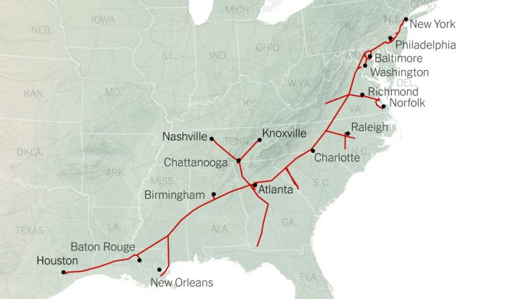 How the Colonial Pipeline Became a Vital Artery for Fuel