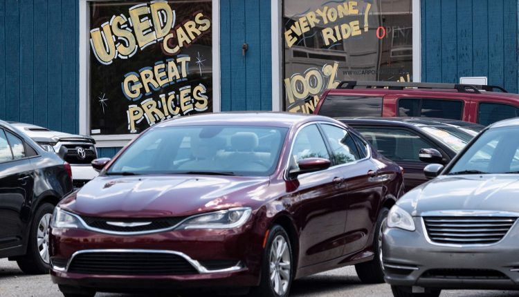 Surging prices for used cars, gasoline, food and airfares are