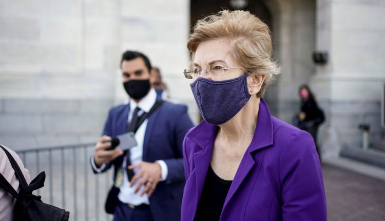 Sen. Warren introduces bill for free Covid testing for teachers,