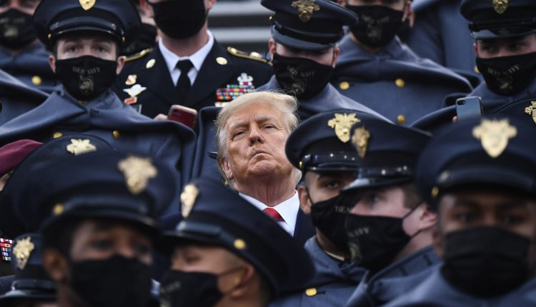 Trump does not wear mask at Army-Navy game despite Covid