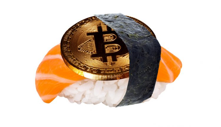 How I Blew My Bitcoin on Sushi