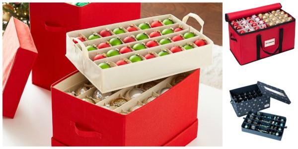 Remodelaholic | Christmas Ornament Storage Ideas
