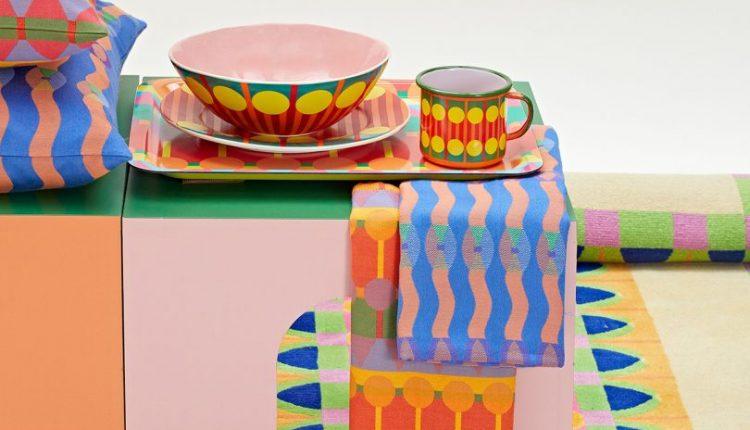 Yinka Ilori Debuts a Bold + Juicy Homewares Collection