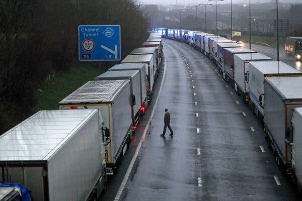 Stocks Slide as Virus Disrupts Travel and Trade Between U.K