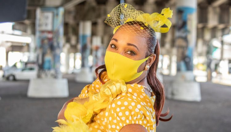 To Promote Vaccines, New Orleans Dances With Its Sleeves Rolled