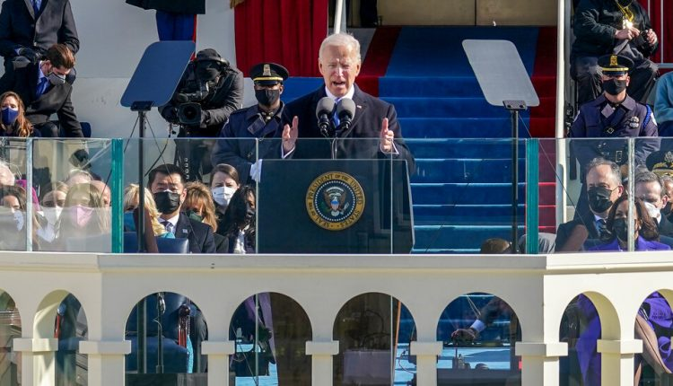 Biden Seeks to Define His Presidency by an Early Emphasis