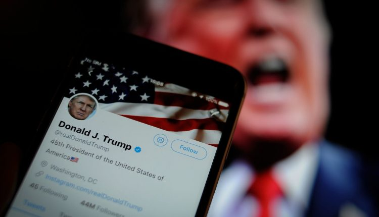 Trump Twitter account locked following video addressing Capitol rioters