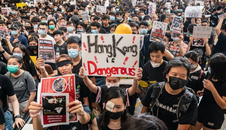 China compares U.S. Capitol riots with Hong Kong protests
