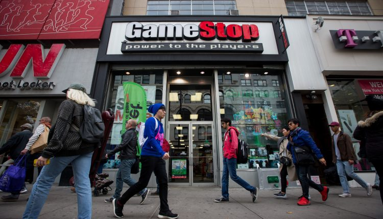 GameStop soars nearly 70%, trading briefly halted amid epic short