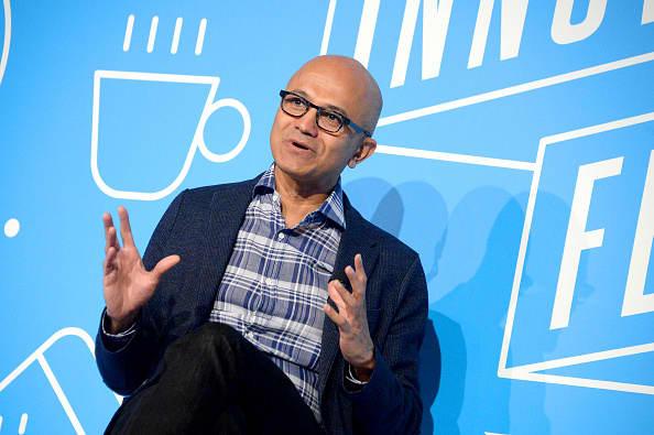 Alphabet, Facebook rise as Microsoft ad units do better than