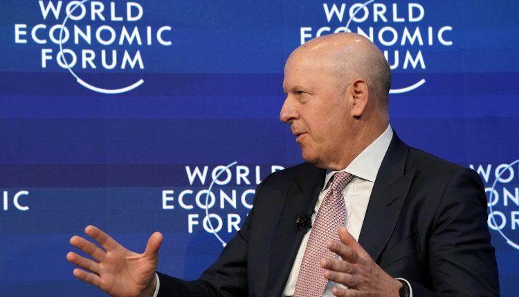Watch Lagarde and David Solomon debate post-Covid recovery
