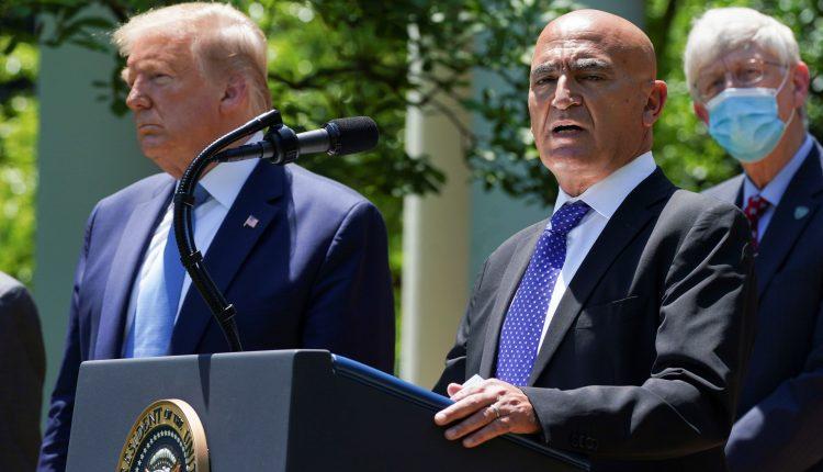 Operation Warp Speed chief resigned at Biden team's request, sources