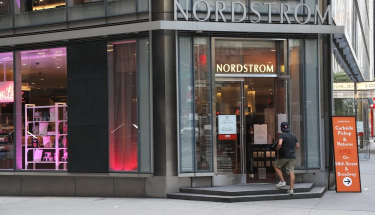 Nordstrom (JWN) shares drop as retailer says holiday sales tumbled