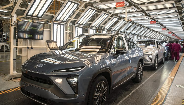 Nio and Tesla vie for dominance in China's electric vehicles