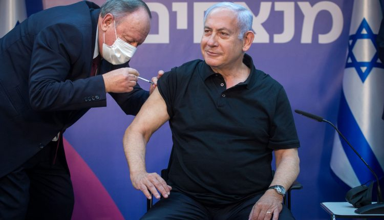 Israel's massive vaccine drive isn't keeping up with new cases