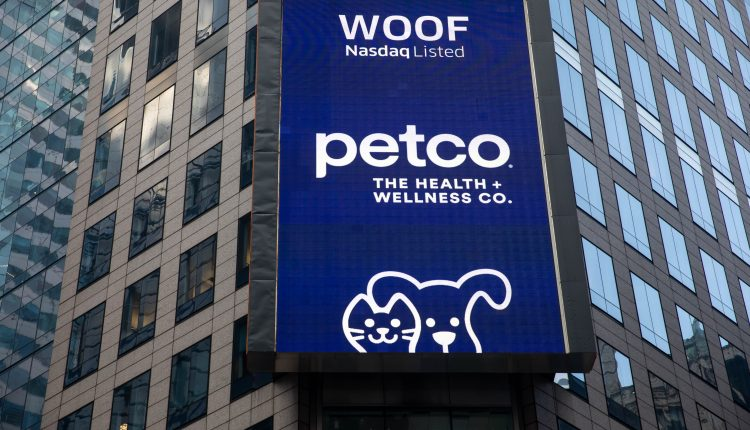 Petco shares surge nearly 70% as it returns to public