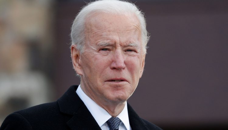 Stock futures rise slightly in overnight trading ahead of Biden's