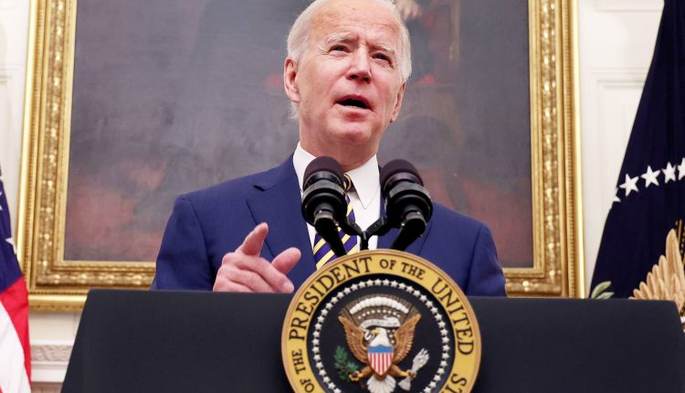 Biden says nothing can change the trajectory of the Covid