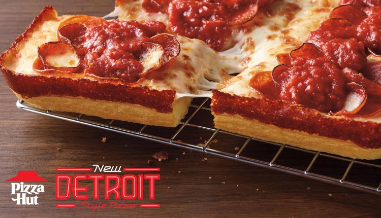 Pizza Hut to launch Detroit-style pizza as its turnaround continues