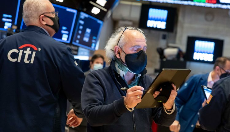 Stock futures flat after a steep sell-off on Wall Street,