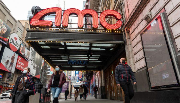 AMC stock quadruples as retail investors raid hedge-fund short targets