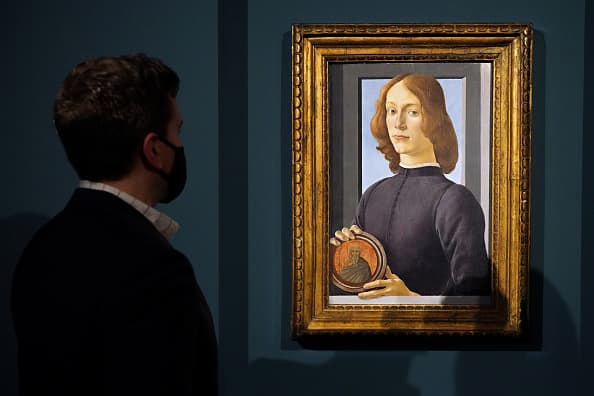 A rare Botticelli portrait could fetch $80 million in Sotheby's