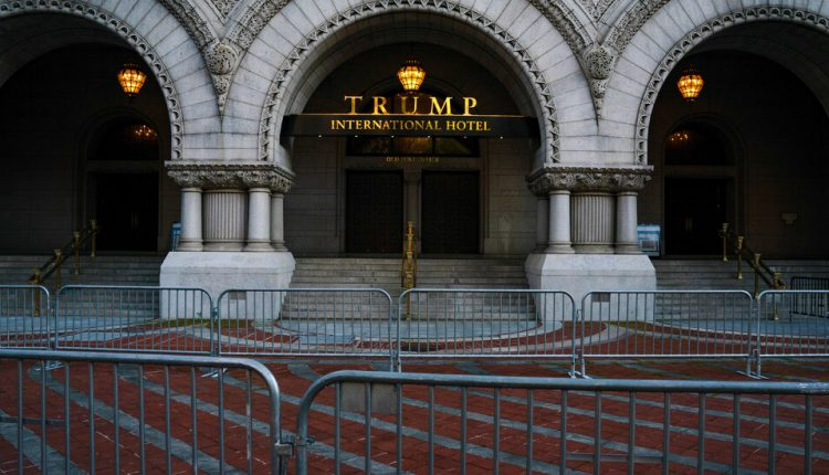 An Urgent Reckoning for the Trump Brand After US Capitol