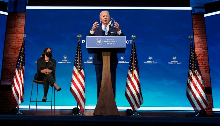 Biden Outlines $1.9 Trillion Spending Package to Combat Virus and