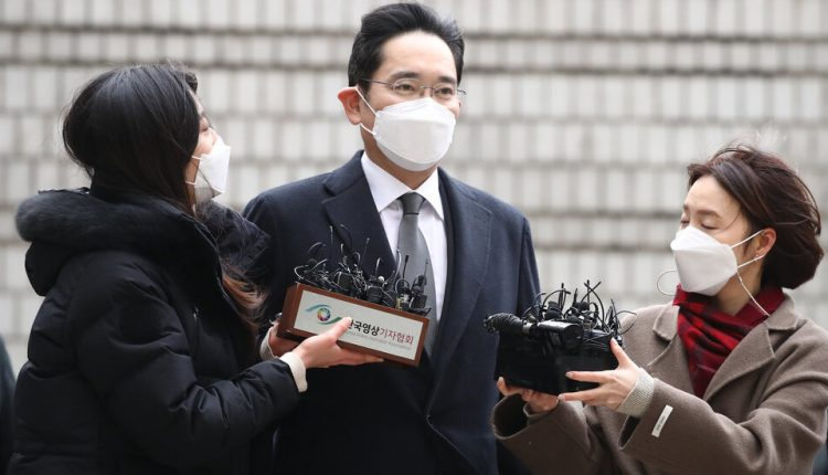Jay Y. Lee, Chief of South Korea's Samsung Empire, Is