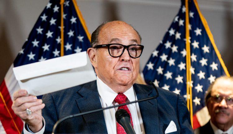 Four falsehoods Giuliani spread about Dominion.